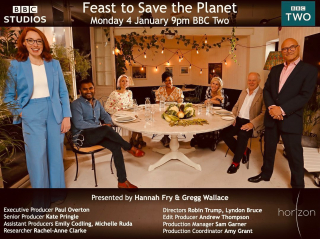 Tonight! 9pm. BBC Two. Had the pleasure of working on this really interesting doc last year. Find out the carbon footprint of the food you eat. What's the environmental impact of the choices you make? There's some interesting surprises!